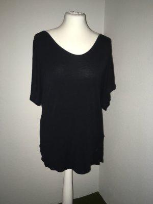 Oversized shirt zwart