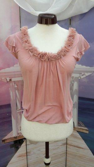 Zara Woman Waterval shirt roségoud