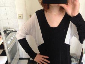 Leichtes Shirt black/White