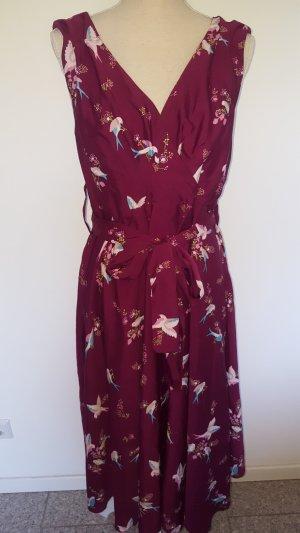 Anmol Robe mi-longue violet