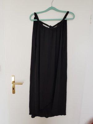 SheIn Vestito da spiaggia nero Tessuto misto
