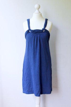Leichtes Sommerkleid, blau