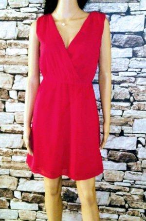 Pimkie Off the shoulder jurk rood Gemengd weefsel