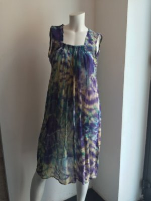 Midi Dress purple-petrol