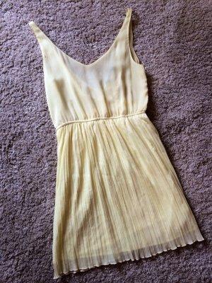 Leichtes Sommerkleid, Zitronengelb