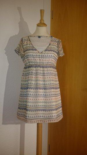 Leichtes Sommerkleidchen, Ethno Print, Zarte Farben, Pastelltöne