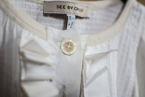 See by Chloé Camiseta crema