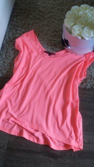 Tom Tailor Denim Camisa deportiva rosa neón
