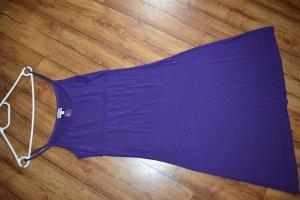 Leichtes strechiges violettes Trägerkleid Wadenlänge Gr.36SttreetOne