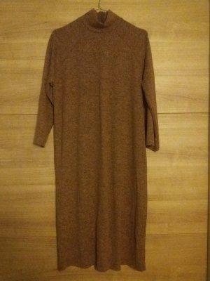Mango Suit Robe en laine rouille