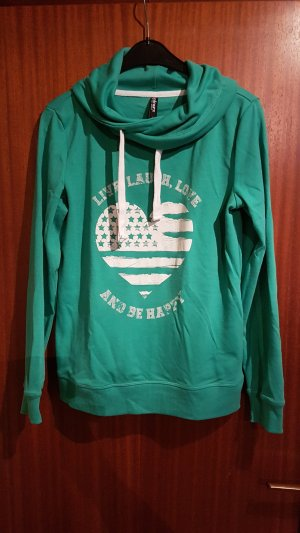 Colours of the World Sweatshirt turquoise