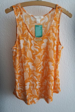 leichtes Top von H&M orange S