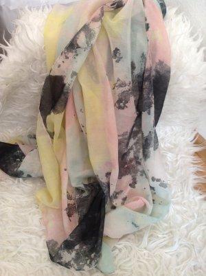 Leichtes Tuch (kein Loop) in Pastellfarben