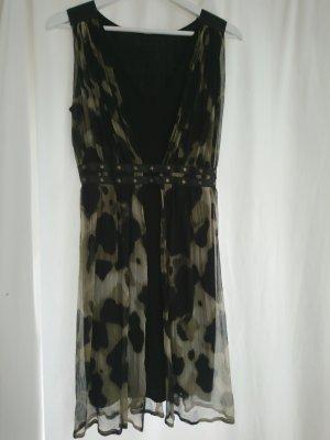 Ana Alcazar Chiffon Dress multicolored