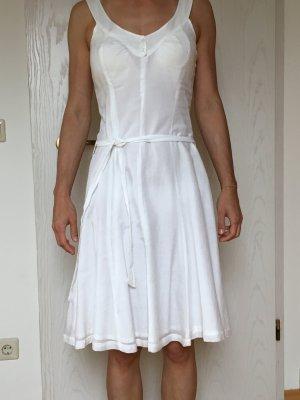 leichtes weißes Sommerkleid, Gr. S
