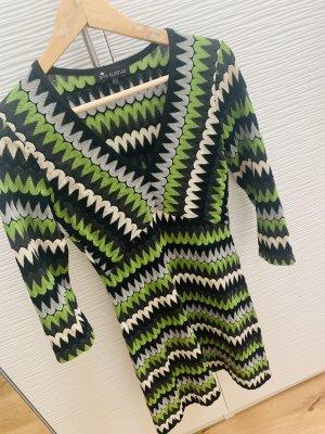 Ana Alcazar Vestido de lana multicolor