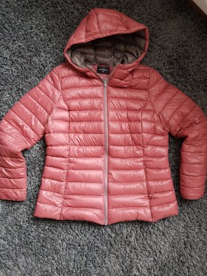 C&A Quilted Jacket rose-gold-coloured-dusky pink