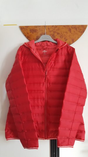 Crane Quilted Jacket red-neon red polyester
