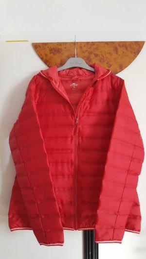Crane Gewatteerd jack rood-neonrood Polyester