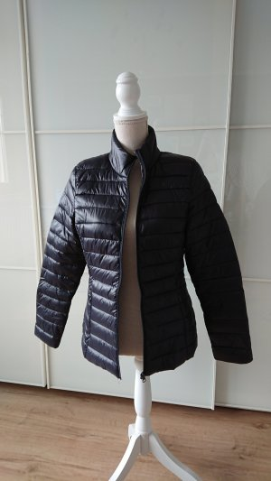 Blue Motion Quilted Jacket dark blue
