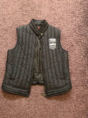edc by Esprit Quilted Gilet black