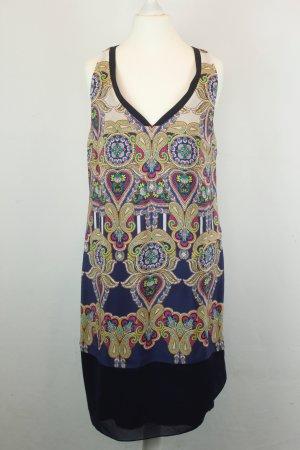 Leifsdottir Kleid Seidenkleid Gr. 0 / 34 bunt ethno Hippie