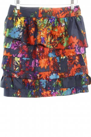 Leifsdottir Flounce Skirt art pattern casual look