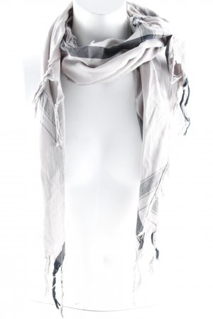 Leigh & luca Fringed Scarf grey-black casual look