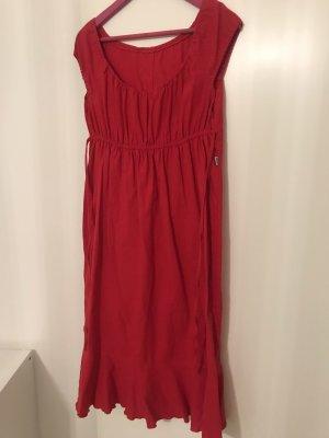 Leine Kleid Rot