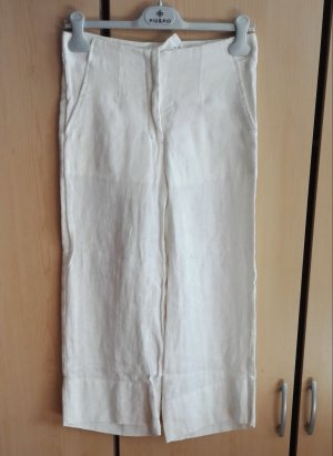 3/4 Length Trousers white