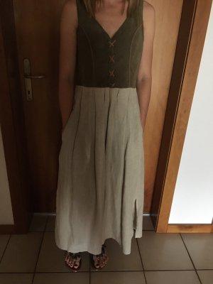 Leinen-Alcantara-Kleid