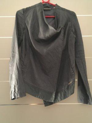 Leinen Blazer/Jacke graublau DKNY Gr. XS