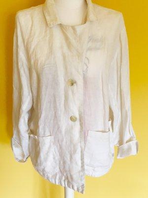 Vetono Blusa de lino blanco