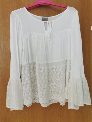 Only Linen Blouse natural white
