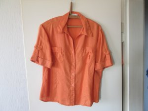 Marco Pecci Blouse en lin orange