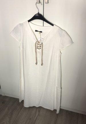 Leinen Boho Sommerkleid Freizeitkleid Zara Mango