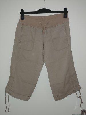 Vero Moda Pantalon 3/4 beige clair tissu mixte