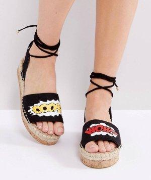 Asos Espadrille sandalen veelkleurig