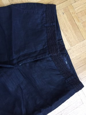 H&M Linen Pants black linen
