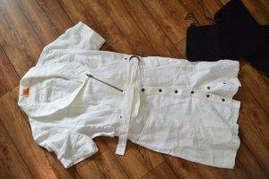 Leinen Kleid Gr. 42 weiss von Object cool