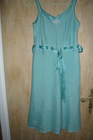 Leinen Kleid mit Blazer in Größe 14