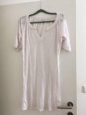 Leinen Kleid von majestic, Größe 3. neuwertig Kann auch als langes Shirt getragen werde, hellrosa.