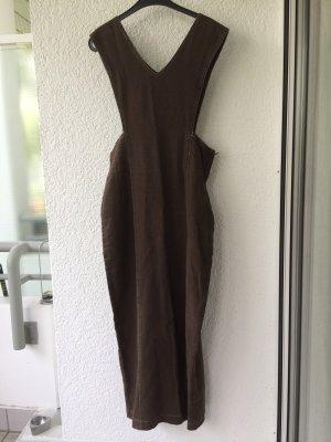 Leinen Kleid von MALVIN, braon, Gr. 40, 25€