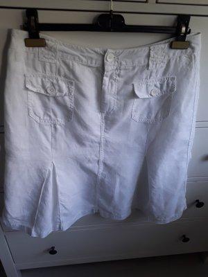 Street One Godet Skirt white