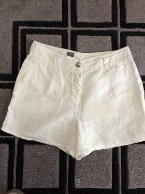 Cinque Shorts bianco Lino