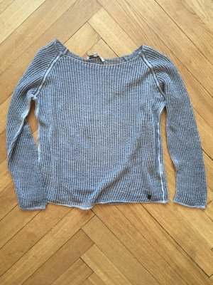 Leinen Strickpullover BETTER RICH grau