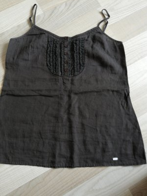 Street One Spaghetti Strap Top dark brown