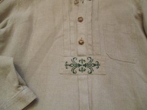 "Leinen-Trachten Hemd, Bestzustand, neuwertig ""GÖSSL"", large"