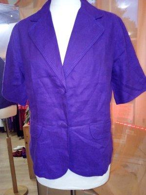 Leinenblazer, wunderschönes violett,  Marco Pecci, Gr. 3