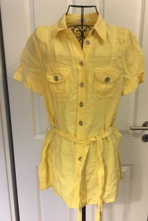 Bonita Camicetta lunga giallo pallido